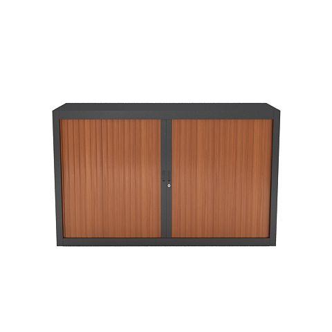 Rolladenschrank Holz niedriger rolladenschrank holz mit spezifischer breite 160 cm in