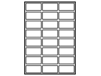 Papieren etiketten voor laserprinter (LAS100 12)