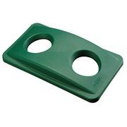 Couvercle pour poubelles tri sélectif Slim Jim vert
