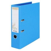 Bicoloured lever-arch file Forever with back 8 cm blue