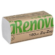 Box of 5400 hand wipers Renova Green