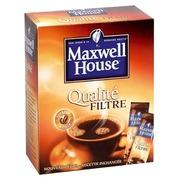Doos 25 zakjes oploskoffie Maxwell House