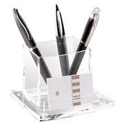 Pencil holder, cristal acrylic