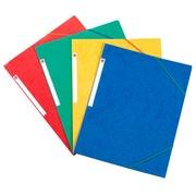 Chemise à élastique 3 rabats carte Bruneau 24 x 32 cm dos 2 cm couleurs assorties