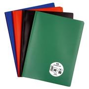 Protège-documents Eco polypropylène opaque A4 40 pochettes - 80 vues coloris assortis