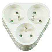 Triangular socket box 2P + T3X16A