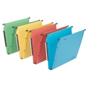 Hangmap voor kasten 33 cm Premium kraft LMG Esselte bodem 30 mm geassorteerde kleuren