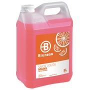 Savon liquide Bruneau agrumes / pamplemousse - Bidon de 5 litres