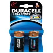 Blister 2 batterijen Duracell LR14 Ultra
