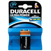 Pile 6LR61 Duracell Ultra Power - Blister de 1 pile 9 volts
