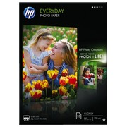 Box 25 sheets of photo paper HP glossy A4