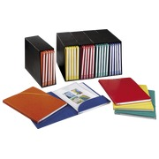 Bloc de classement Alpina Elba 5 chemises dos 1,5 cm couleurs assorties - Lot de 5
