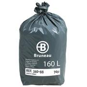 Sac poubelle 160 litres qualité supérieure Bruneau - 200 sacs