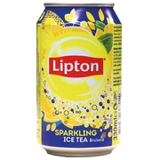 Pack of 24 cans of Lipton Ice Tea Regular 33 cl