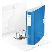 Classeur à levier plastique Leitz Active 180° Wow - Dos 7,5 cm bleu