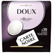 Pak met 36 koffiecapsules Carte Noire Zacht