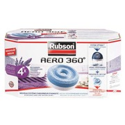 Box of 4 refills Aero 360° lavander for humidity absorber Rubson Basic