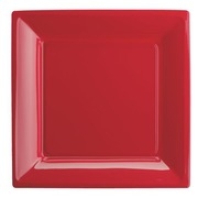 Plates semi-rigid red