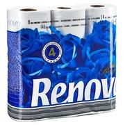 Papier toilette quadruple épaisseur Royal Renova - Colis 63 rouleaux 140 feuilles
