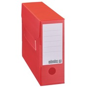 Archive boxes Extendos in plastic back 10 cm assorted colours