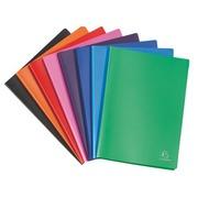 Protège-documents Exacompta polypropylène opaque A4 40 pochettes - 80 vues couleurs assorties