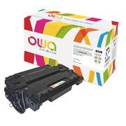 Tonerkartusche Owa HP 55A-CE255A schwarz für Laserdrucker