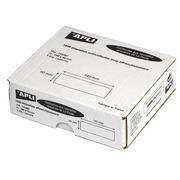 Etiquette affranchissement 1 de front 140 x 40 mm Apli Agipa blanche - Boîte de 1000