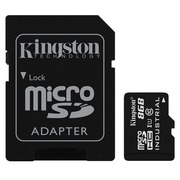Kingston - flash memory card - 8 GB - microSDHC UHS-I