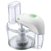 Philips HR 7605/10 - food processor - 350 W - white with mineral green accents