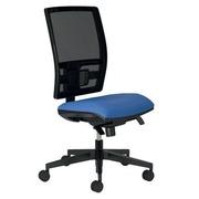 Chair Bruneau Activ' maze structure - synchronous with adjustable seat - blue