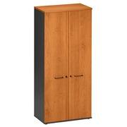 Armoire portes battantes Quarta Plus L 80 cm