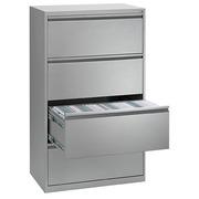 Monoblok buffetkast aluminium B 80 cm 4 laden
