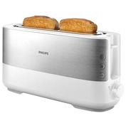 Philips Viva Collection HD2692 - Toaster - weiß