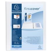 Ringmap Kreacover® PP personaliseerbaar - 2 vakken - 2D-ringen 20mm - A4 maxi