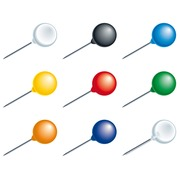 Box of 20 spherical pins - 8mm width