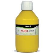 Darwi Acrylique brillante jaune foncé