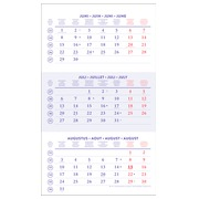 Bilingual quarterly calendar 2020