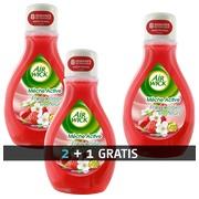Promo Pack 2 Flaschen Lufterfrischer AirWick Himbeere + 1 gratis