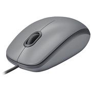 Logitech M110 Silent - souris - USB - gris intermédiaire