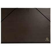 Drawing folder in black kraft Exacompta 32 x 45 cm