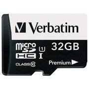 Verbatim - flash memory card - 32 GB - microSDHC