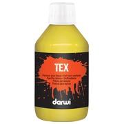 Darwi peinture textile Tex, 250 ml, jaune or