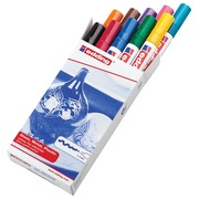 Edding marqueur peinture 750, set de 10 pièces en couleurs assorties