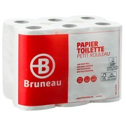 Toilet paper double thickness Bruneau - pack of 12 rolls with 200 sheets