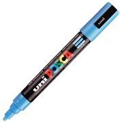 Marqueur Posca PC5M pointe moyenne 1,8 à 2,5 mm - bleu clair