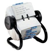 Fichier rotatifs Rolodex RL66700 44x83mm 250 fiches noir