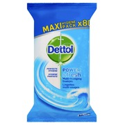 Desinfecterende doekjes Dettol Power & Fresh 80st