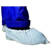 Couvre-chaussures renforcés PE blanc.