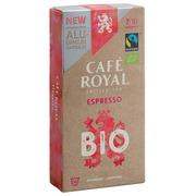 Capsules de café Café Royal Bio Espresso - Boîte de 10