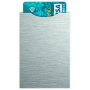 Paquet de 5 étuis protège carte bancaire anti-RFID décor matière